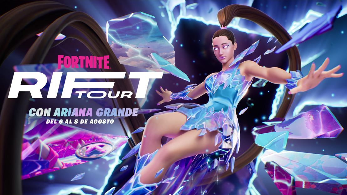 Ariana Grande llega al Rift Tour de Fortnite