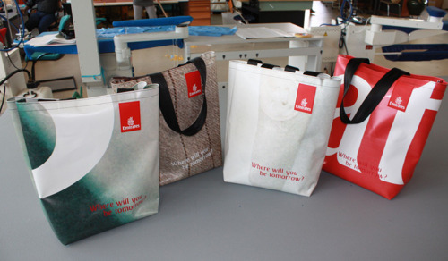 Emirates 'bags' its advertising