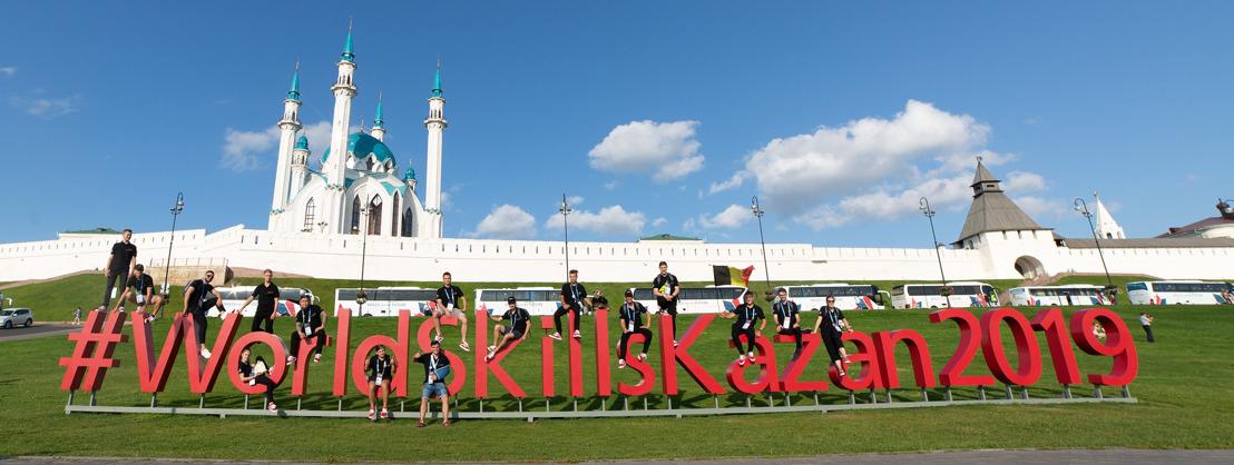 WorldSkills Kazan : 5 médailles d'excellence belges - 5 Belgische medailles