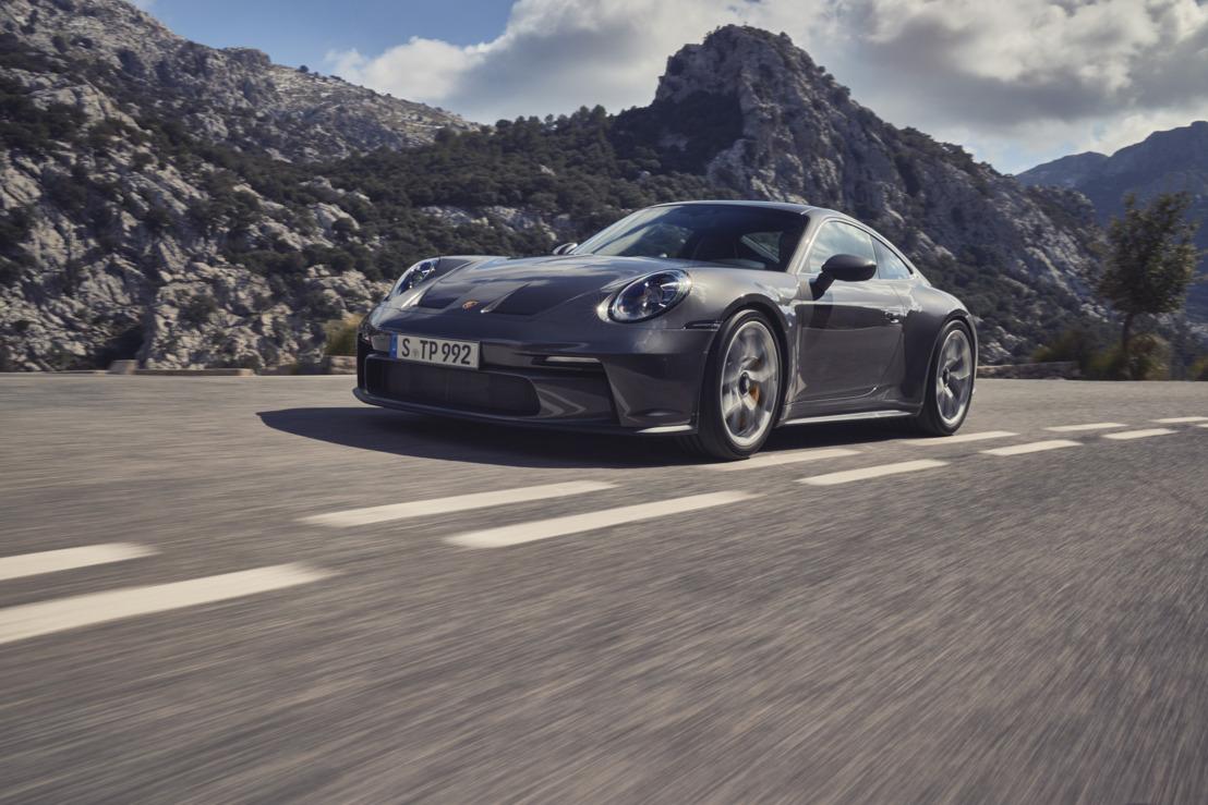 De nieuwe Porsche 911 GT3 met Touring-pakket