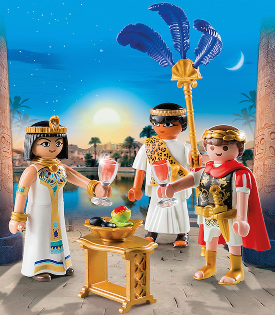 PLAYMOBIL - Sta oog in oog met Cleopatra, vecht zij aan zij met Caesar!