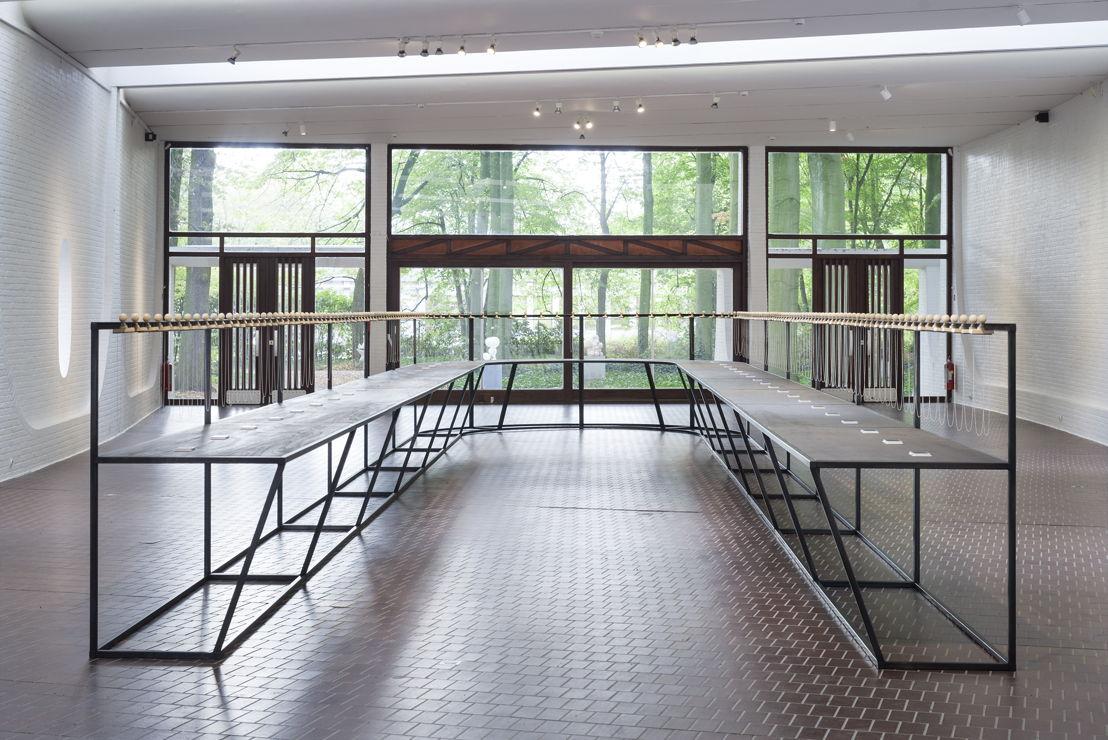 Dennis Tyfus, Stampersgat-Fijnaart (deel 2), 2018<br/>Middelheimmuseum, Antwerpen<br/>Copyright Dennis Tyfus<br/>Foto Ans Brys