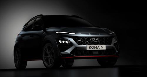 Hyundai dévoile une première impression du New KONA N