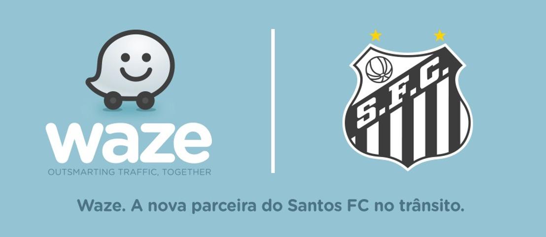 Santos anuncia parceria ao Programa Global Event Partners do Waze