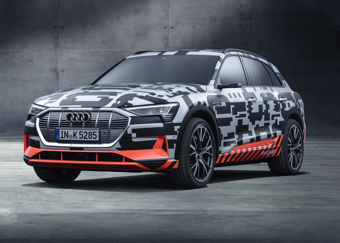 Prototype Audi e-tron: vooruitblik op de eerste volledig elektrische auto van het merk