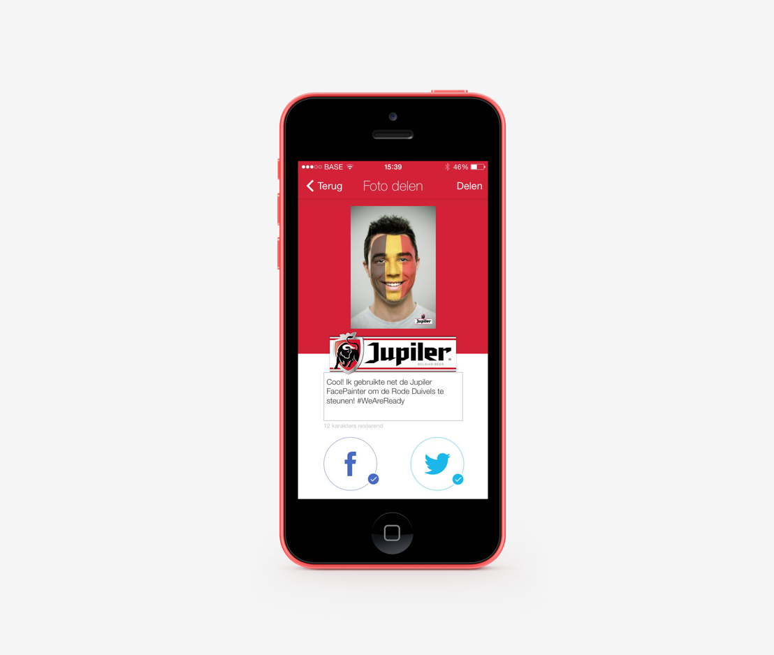 Jupiler FacePainter