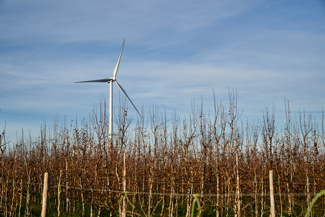 Een project van 6 nieuwe windturbines in Yvoir en Dinant