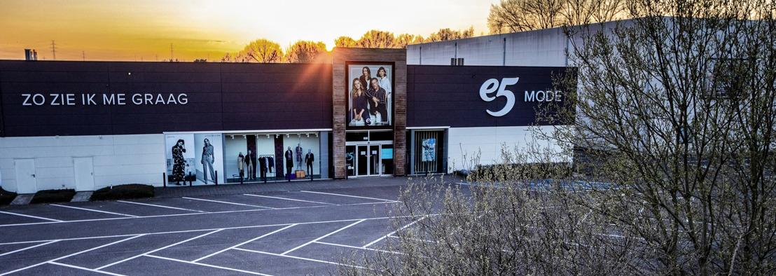 Iconische modeketen E5 blijft in Vlaamse handen