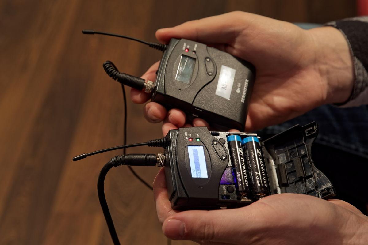Darf nicht fehlen: die robusten All-in-One-Funksysteme ew 112P G4-E