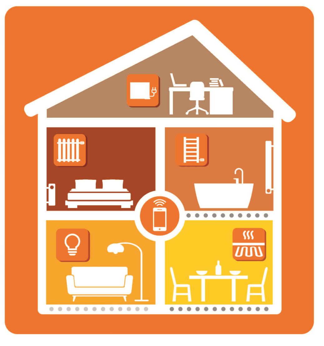 radson presenteert intelligente elektrische radiatoren op. Black Bedroom Furniture Sets. Home Design Ideas