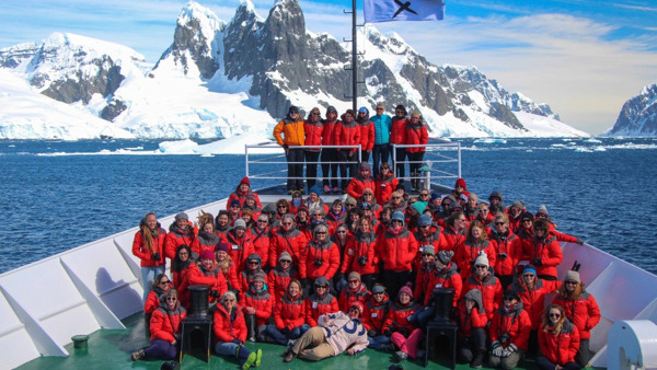 Preview: Antarctica trip empowers ANU women to become tomorrow's leaders