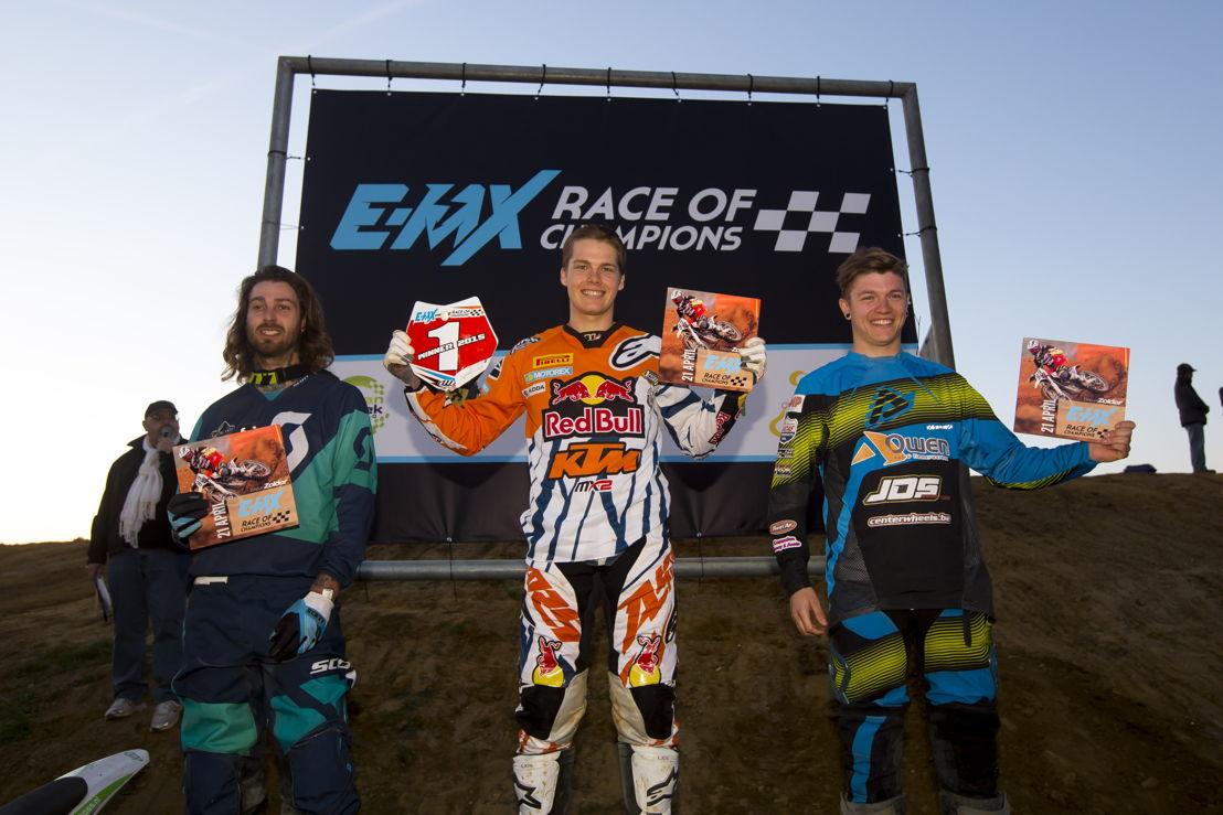 Start EMX Race of Champions podium 2015, credit: CDS