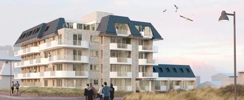 Roompot appartementencomplex De Graaf van Egmont wordt vernieuwd