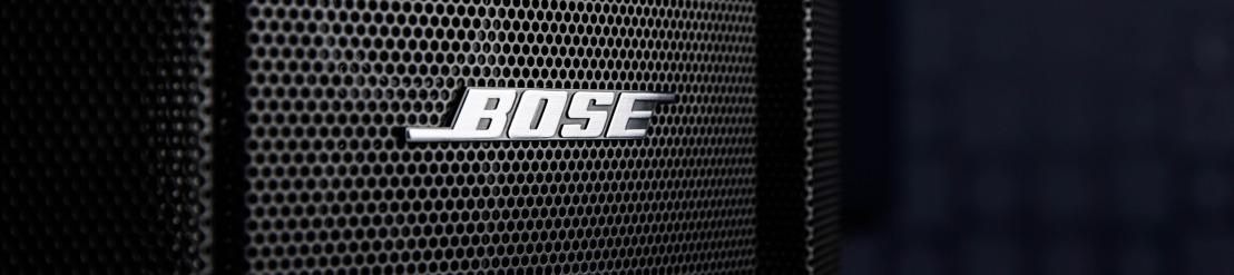 Bose® Professional expande la familia de altavoces F1 y amplía su rango de opciones de instalación