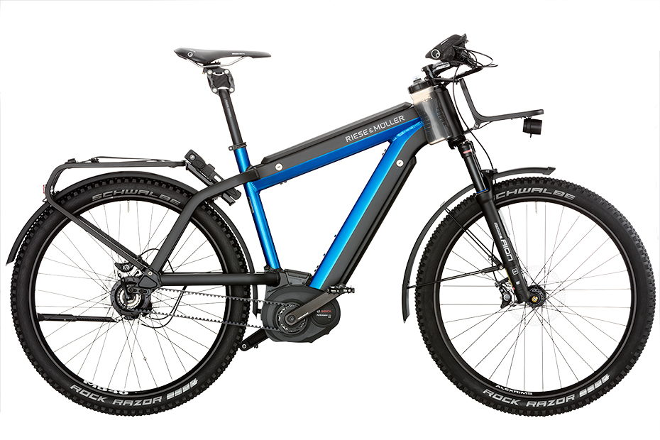 eBike made for longer excursions and the person who wants to be able to go anywhere.