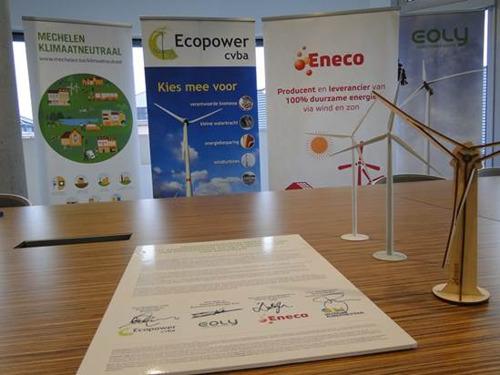 Doorbraak realisatie windmolens in Mechelen