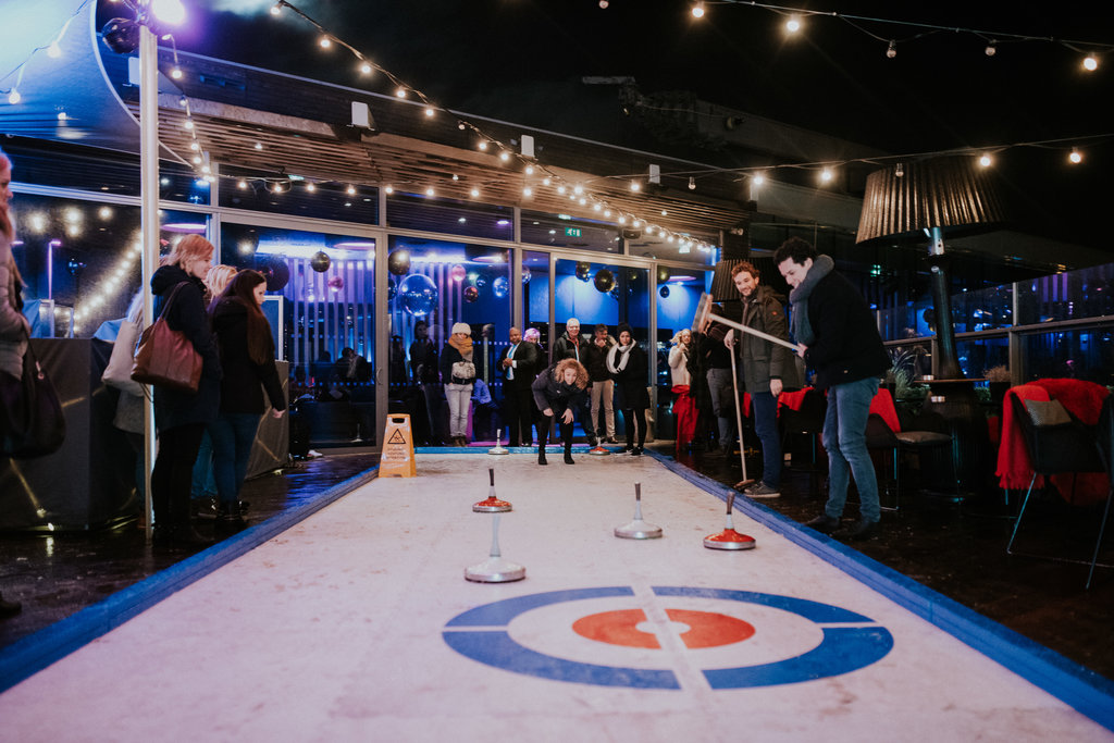 (VORIGE EDITIE) CocktaiL Curling by het Doubletree by Hilton Amsterdam Centraal
