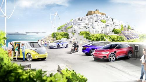 Volkswagen se suma a la transformación de Astypalea como la primera isla inteligente y sostenible