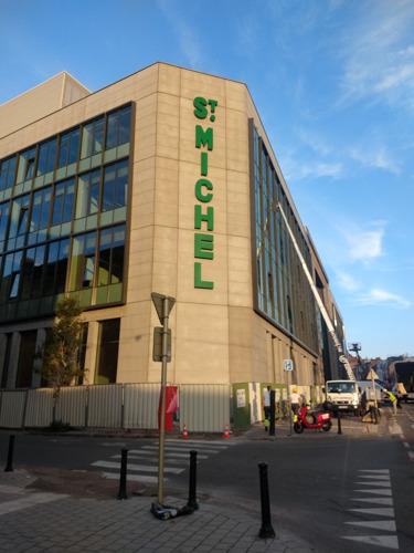 En avant-première, le premier jour d'école de Saint-Michel à Molenbeek.