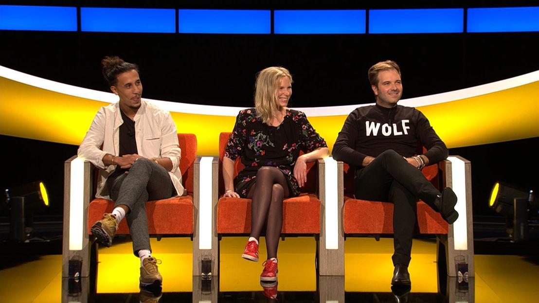 Said, Julie en Niels.