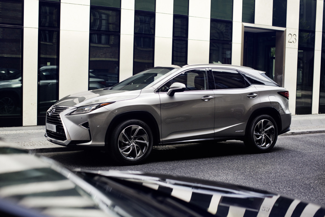 UPDATE - Prijslijst Lexus RX 200t en 450h