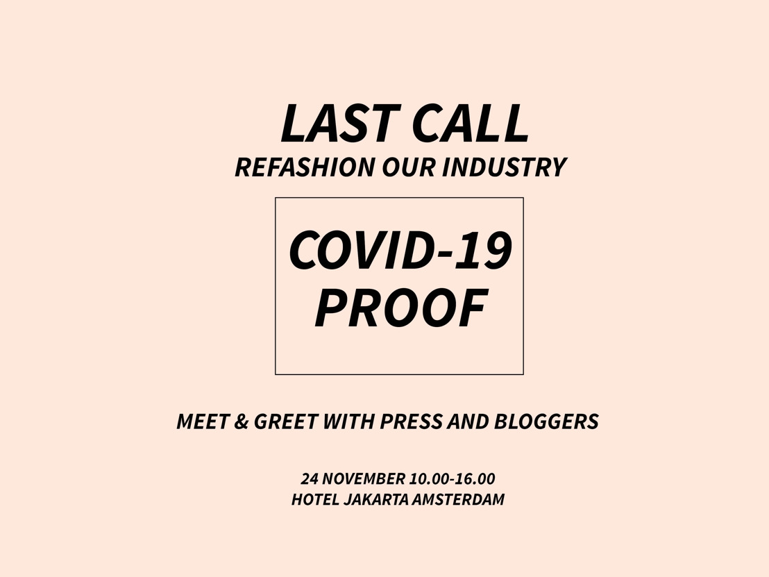 Last call REFASHION OUR INDUSTRY & Covid-19 proof