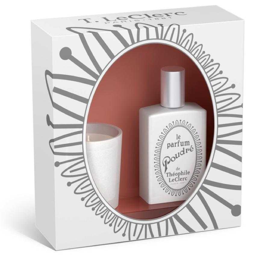 T.LeClerc_Le boîte à cadeau parfum poudrée et la bougie parfumée_€ 42