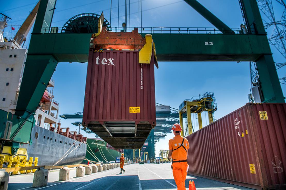 Le Port d'Anvers limite les dégâts de la crise sanitaire