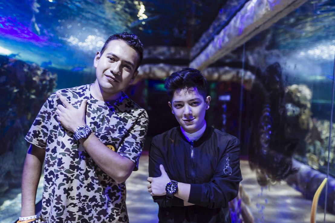Donovan Borja y Beng Zeng
