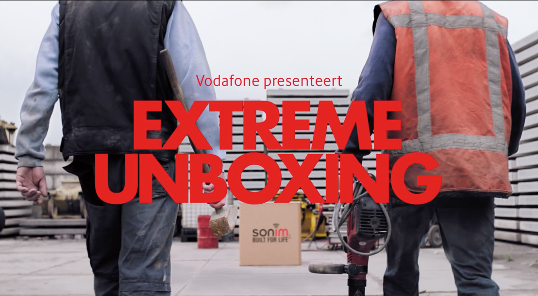 Extreme unboxing met Vodafone