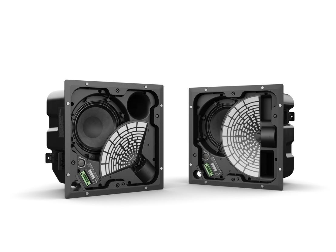 Disponibles a nivel mundial, los innovadores altavoces premium EdgeMax™ para montaje a plafón de Bose Profesional