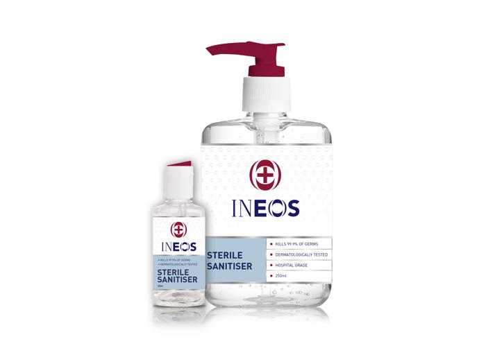 INEOS bouwt 2 fabrieken in 10 dagen om handgeltekort in Europa op te vangen