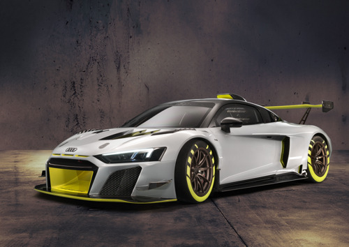 L'Audi R8 LMS GT2 montre son nez au Goodwood Festival of Speed