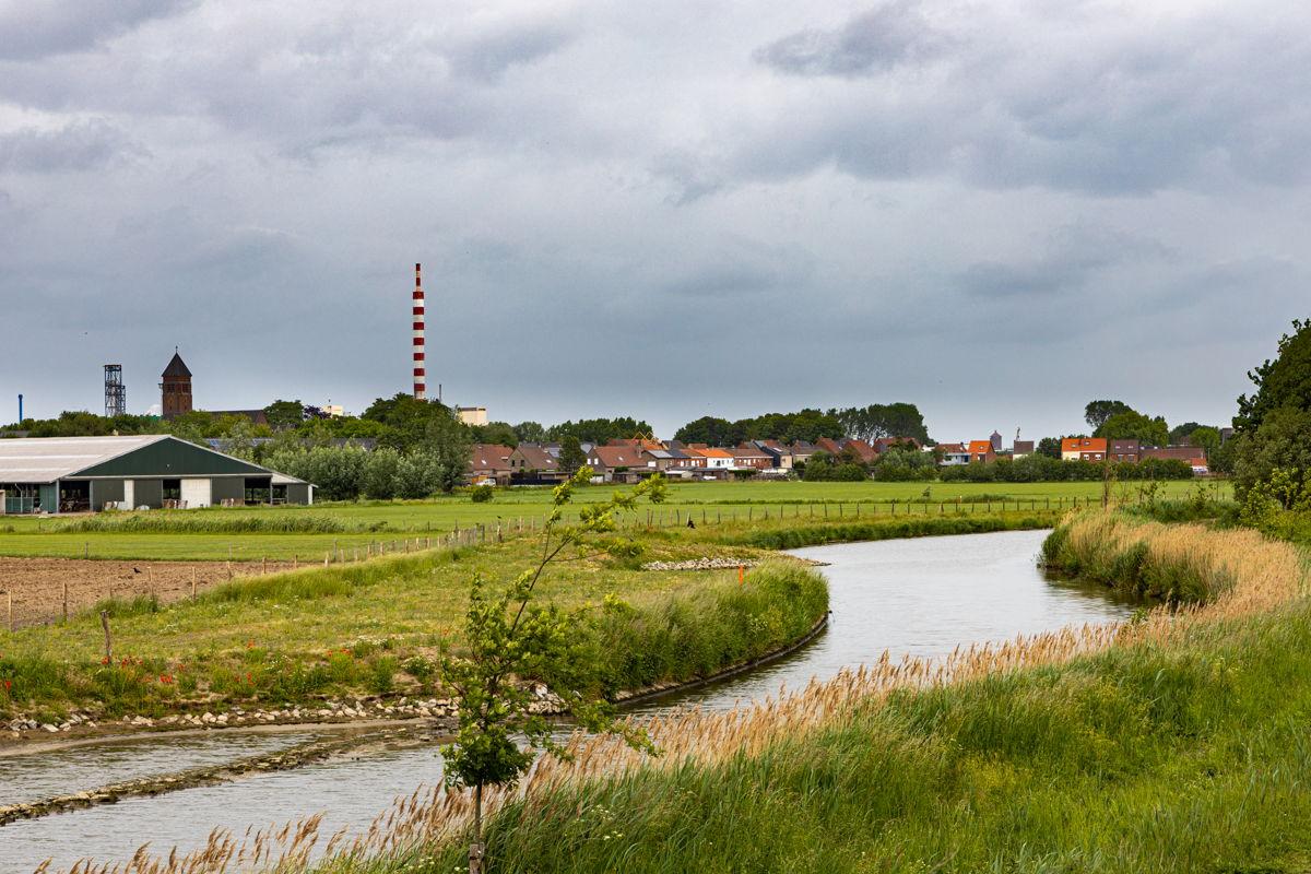 Mieke De Bruyne uit Gent nam deel aan de fotowedstrijd tijdens de lockdownperiode en bracht volgens de jury het koppelingsgebied het best in beeld