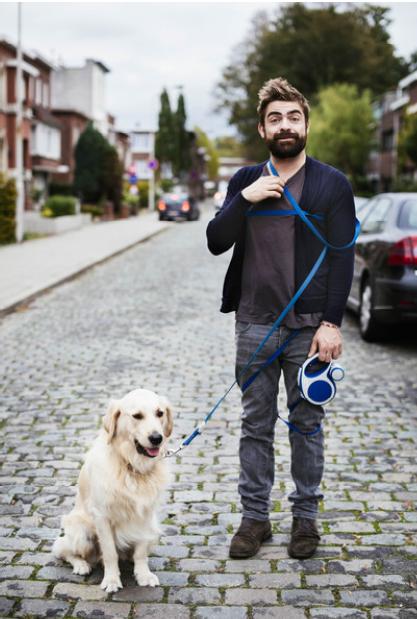Hondenuitlater Pedro