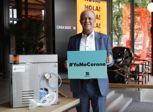 SEAT donates €100,000 to the #YoMeCorono project against COVID-19