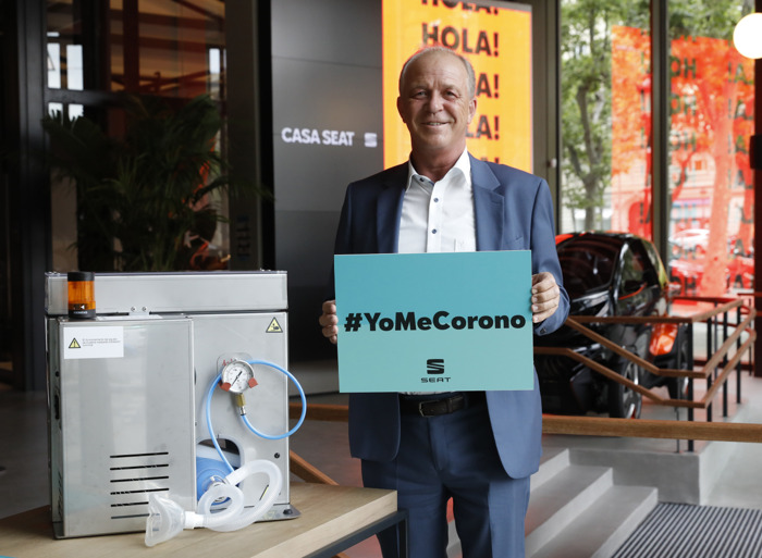 SEAT donates €100,000 to the #YoMeCorono project against COVID-19