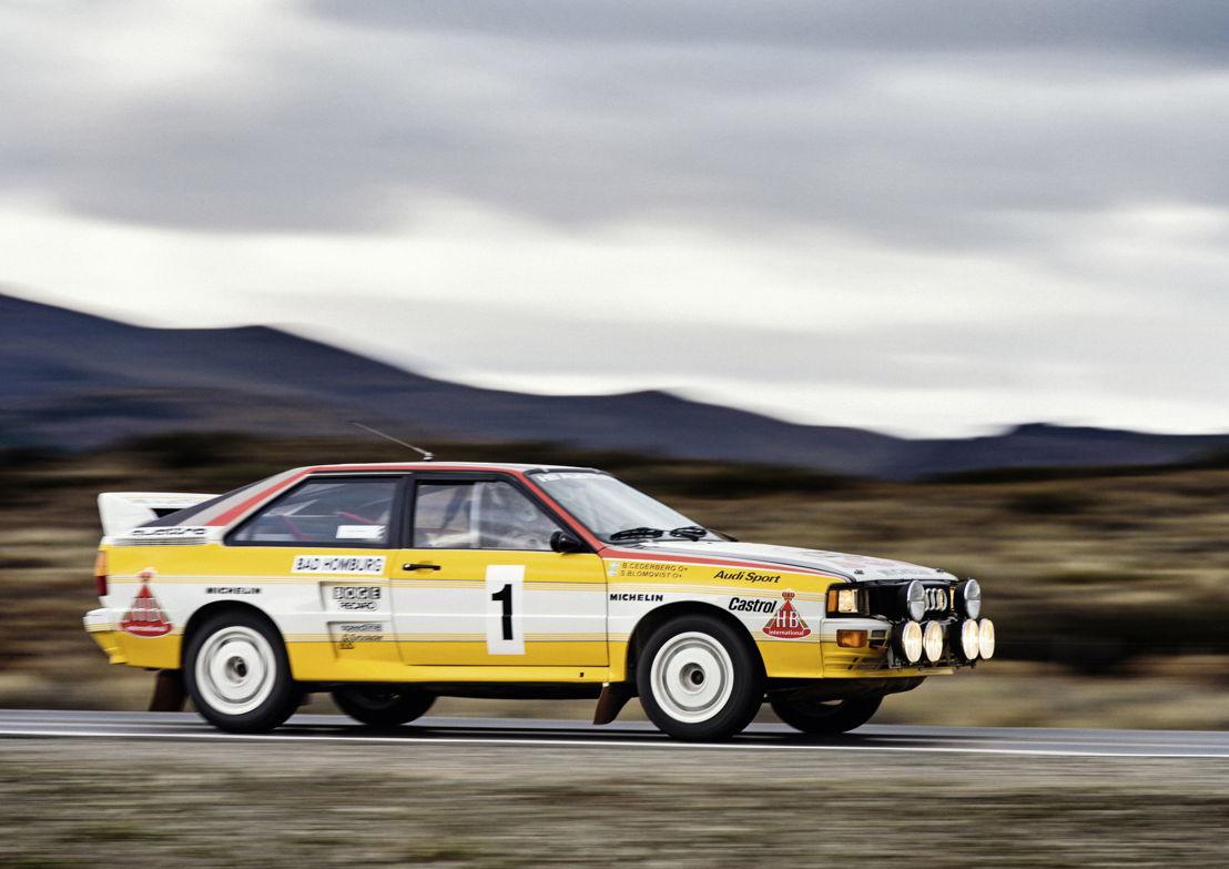 Audi quattro A2, Group B, model year 1983