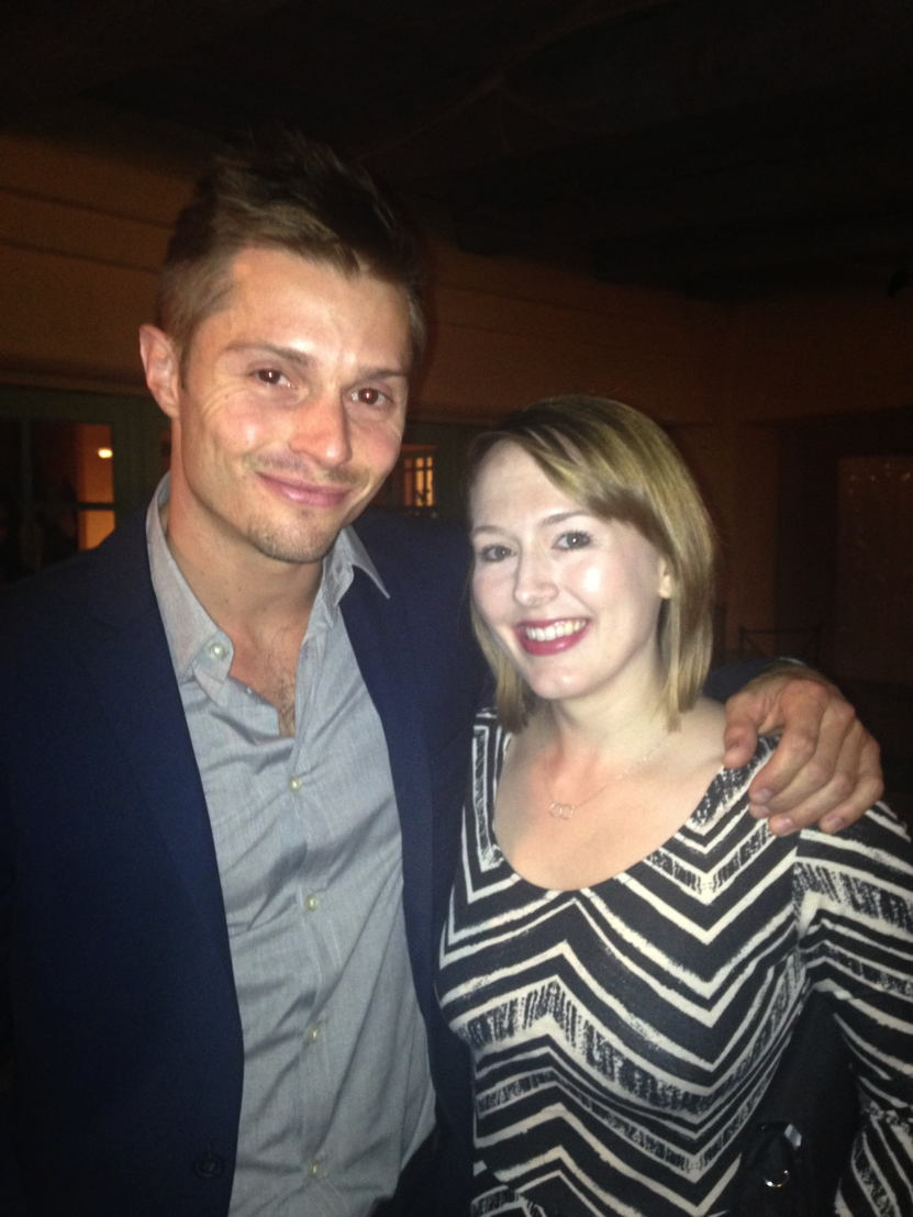 Evan Gamble and Amy Schloerb, co-stars of the film.