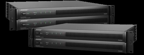 Bose Profesional integra la tecnología Dante en sus nuevos amplificadores PowerShare