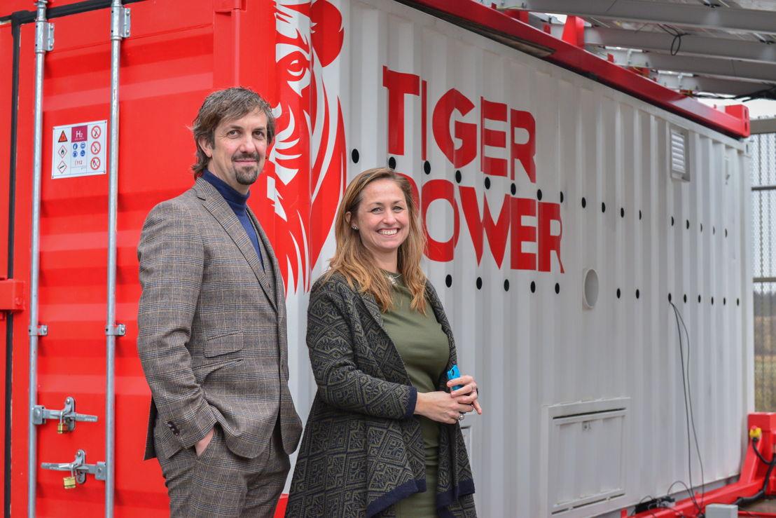 CEO Chris Prengels and CTO Jessica Reznor
