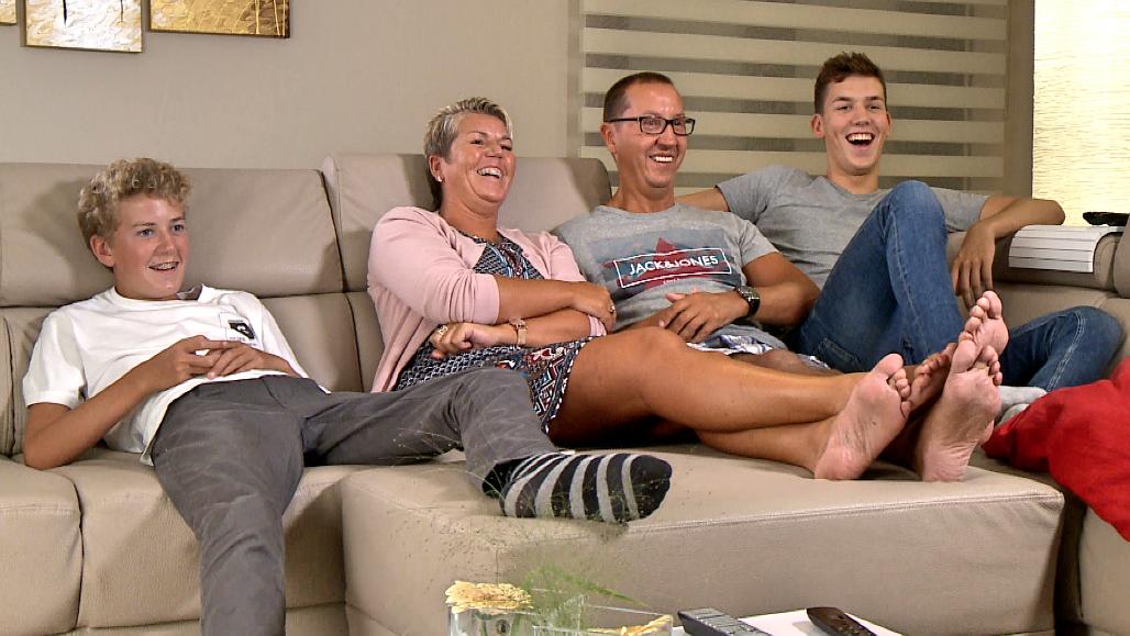 Familie Carremans<br/>Hallo televisie! (c) VRT