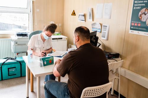 Communiqué de presse | Vaccination Covid dans les centres d'accueil