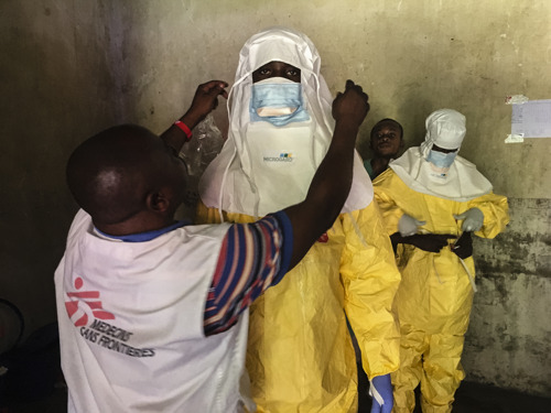 DEMOCRATIC REPUBLIC OF CONGO: MSF Ebola vaccination targets remote communities