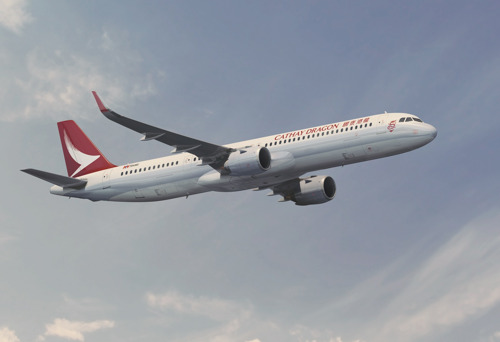 The Cathay Pacific Group places LEAP-1A engine order with CFM International to power Airbus A321neo aircraft