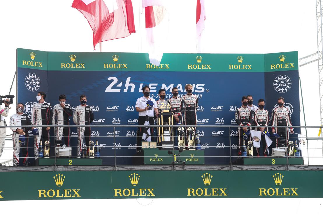 TOYOTA GAZOO Racing takes Le Mans hat-trick