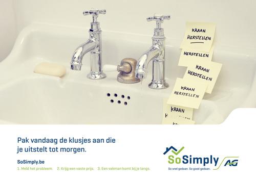 AG vertrouwt de nieuwe campagne van SoSimply toe aan Air.