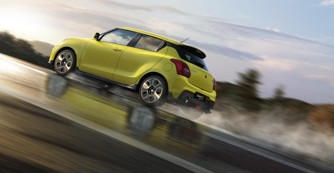 De nieuwe Suzuki Swift Sport in wereldpremière op Frankfurt Motor Show