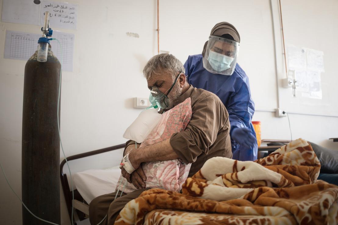 Nord de la Syrie : le système de santé débordé par l'épidémie de Covid-19 la plus grave jamais observée