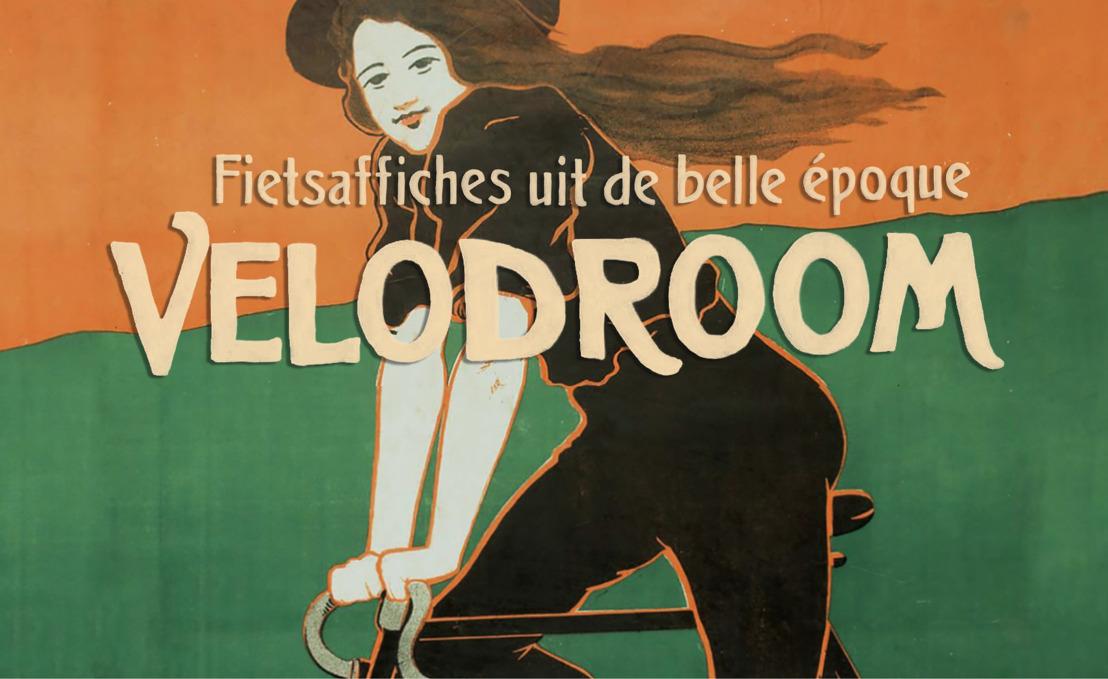 Letterenhuis opent expo 'Velodroom. Fietsaffiches uit de belle époque' op World Bicycle Day